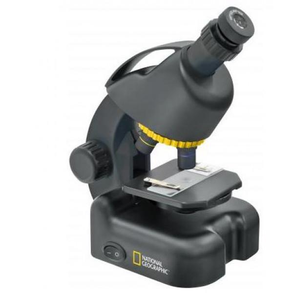 National Geographic 40 - 640x mikroskops ar telefona statīvu