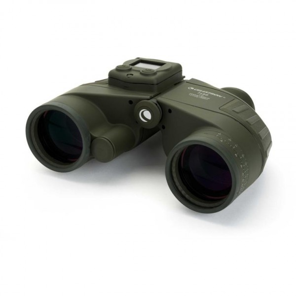 Celestron Cavalry 7x50 binocular with GPS, digital compass and reticle