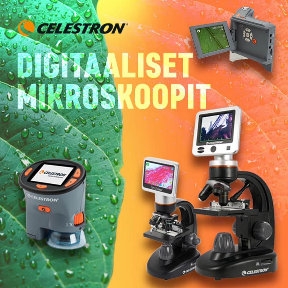 Celestron Digitaaliset mikroskoopit