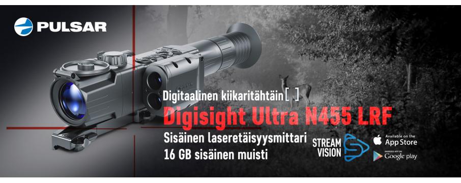 Pulsar Digisight Ultra LRF N455 digitaalinen kiikaritähtäin