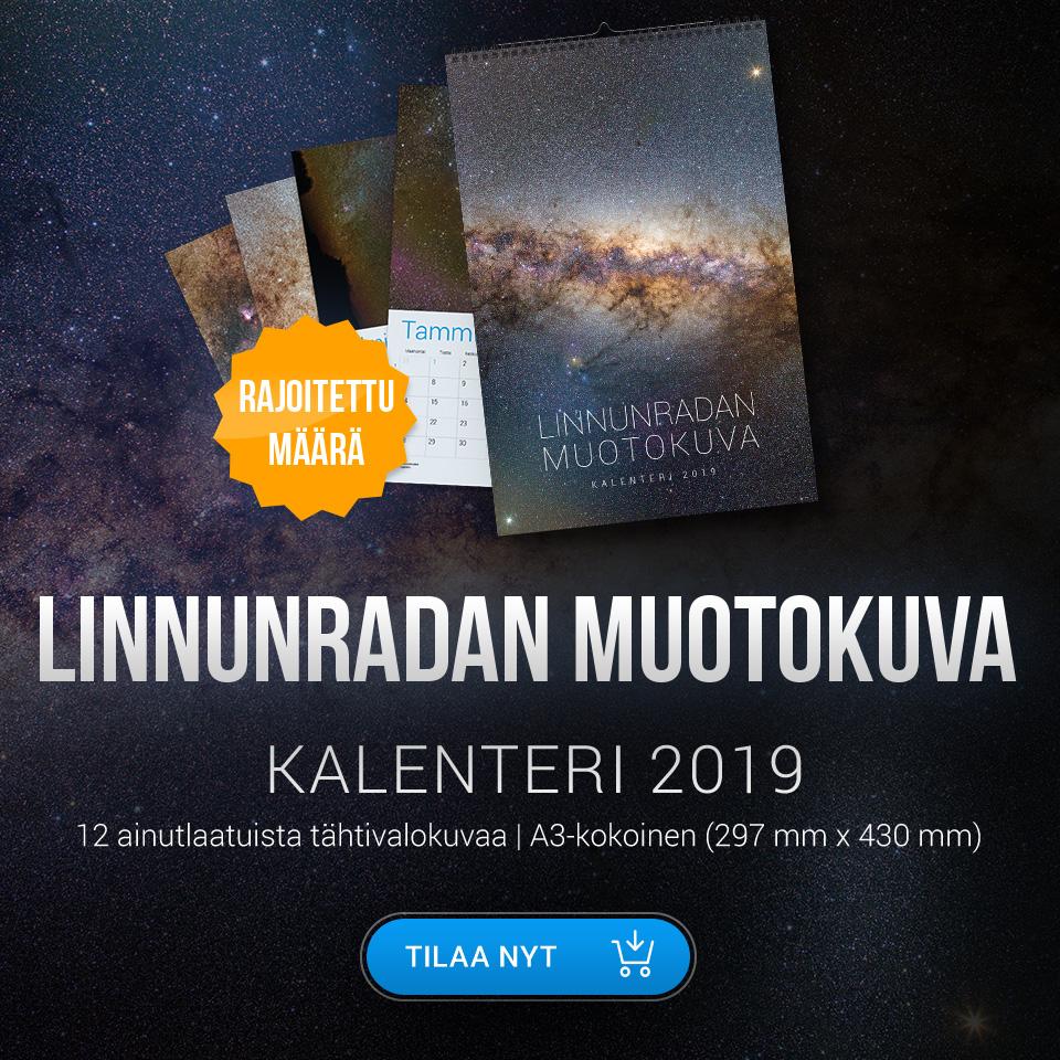 Tähtikalenteri vuodelle 2019