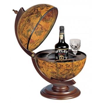 """Zoffoli """"Sfera 33""""- Ebony bar globe"""