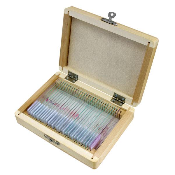 Bresser histologinen preparaattisetti mikroskoopeille (30 kpl)