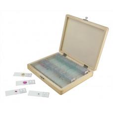 Celestron preparaattisetti mikroskoopeille (100 kpl)