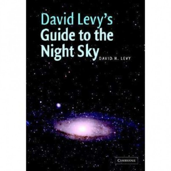 "Cambridge University Press David Levy's ""Guide to the Night Sky"" kirja"