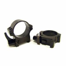 Rusan Weaver-renkaat, 30 mm, pikalukittava, H10mm