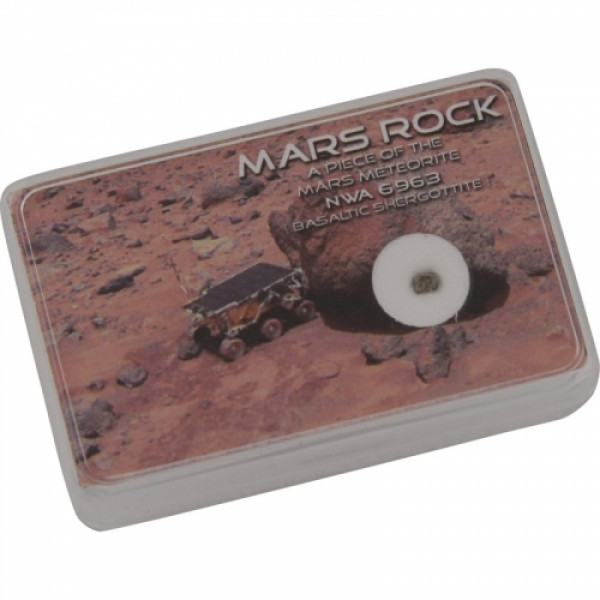 Sonstige Authentic NWA 6963 Mars meteorite