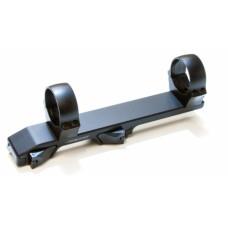 Innomount 30 mm kiinnitysrenkaat Blaser-kiskolle / Pulsar Thermion- ja Digex-kiikaritähtäimille