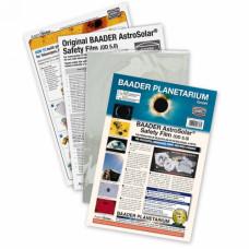 Baader Planetarium AstroSolar Safety Film OD 5.0, 100x50cm saules filtrs