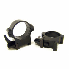 Rusan Weaver-renkaat, 30 mm, pikalukittava, H12mm