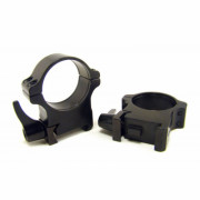 Rusan Weaver-renkaat, 30 mm, pikalukittava, H14mm