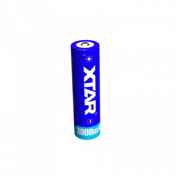 XTAR 18650 3.7V 3000mAh Li-ion akkulaattorit