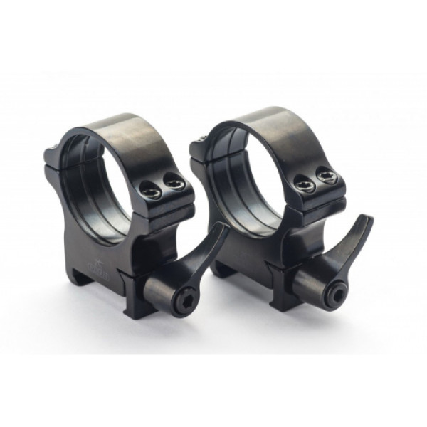 Rusan Weaver-renkaat, 30 mm, pikalukittava, H20