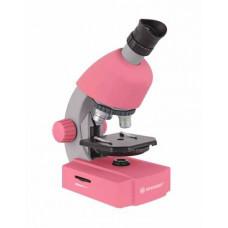 Bresser Junior 40x-640x mikroskooppi (rosy)
