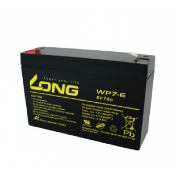 LONG 6V 7Ah Akumulators
