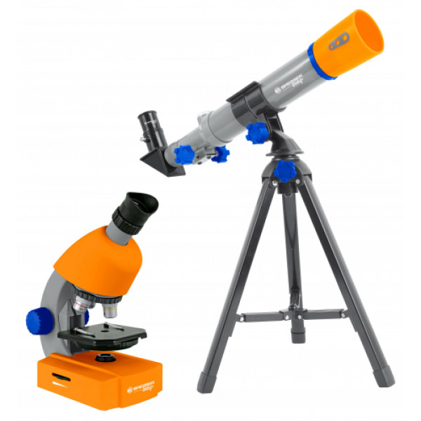 Bresser Junior mikroskooppi ja teleskooppisetti lapsille