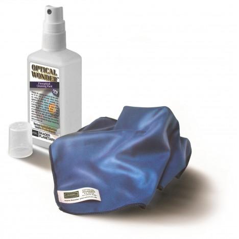 Baader Optical Wonder setti (puhdistusneste ja -pyyhe)